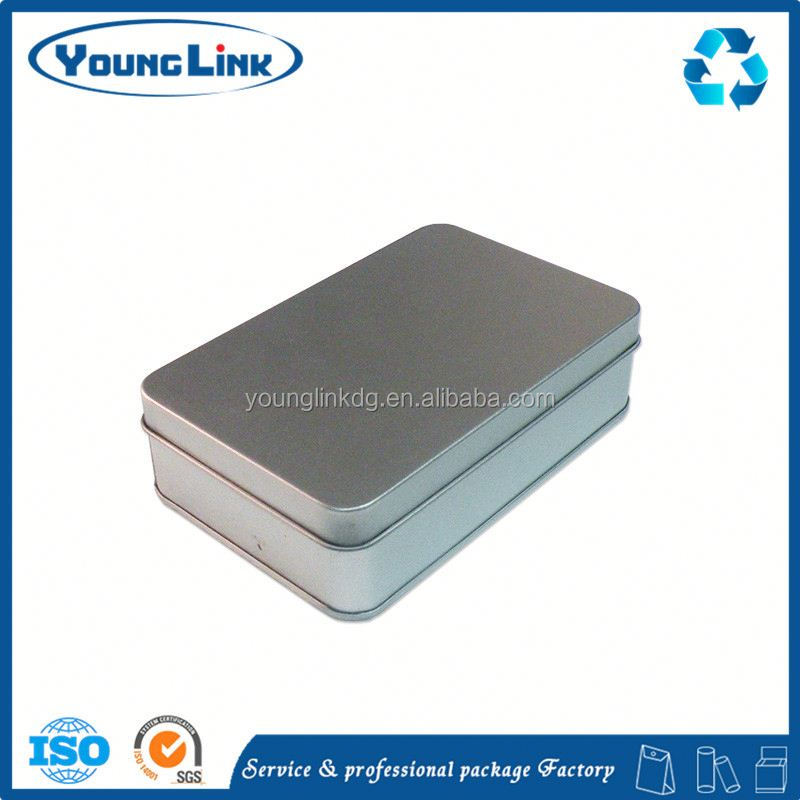 dvd tin packaging with slide fastener