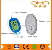 blood glucose meter and blood testing equipment accu-check strip/bags for blood glucose meters/accu chek aviva test