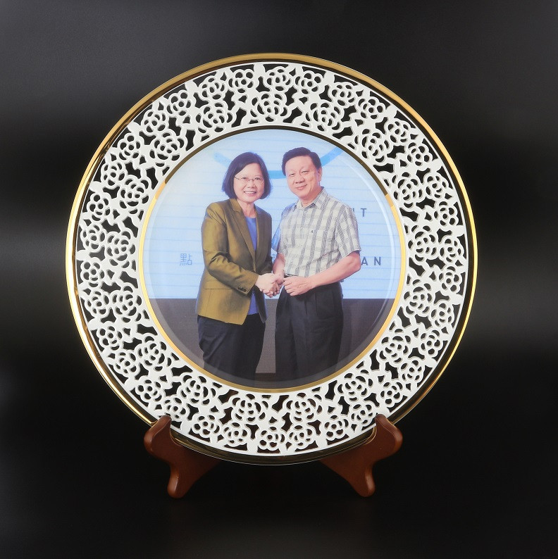 Customize high defination ceramic plate