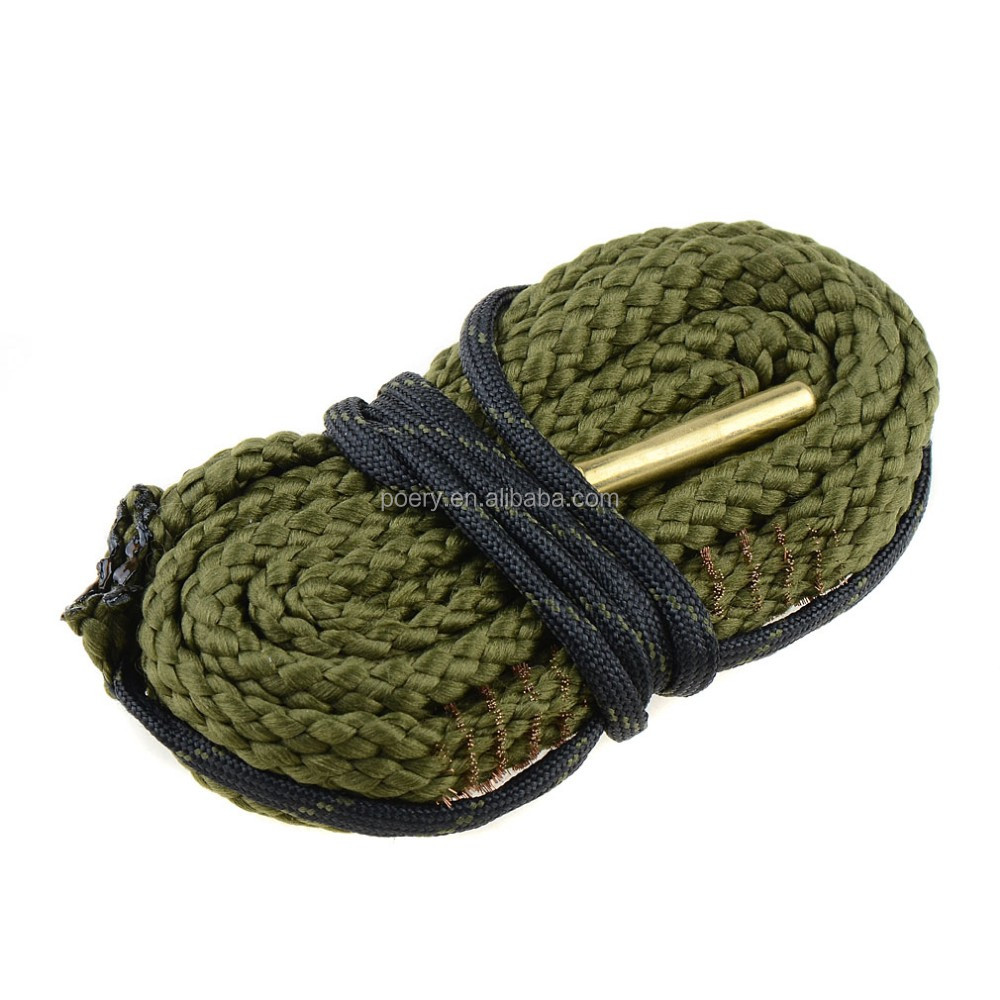 G3 Cleaner Rope 380 9mm .38 357 Cal Gun/pistol/Rifles Cleaning Bore Snake Hunting Accessorie from poery