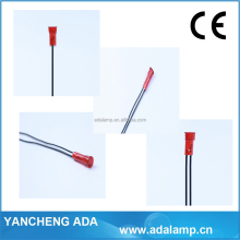 10mm dia. A-17 led panel light heat indicator