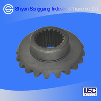 Dongfeng Duolika EQ125 EQ140 truck axle parts rear side gear- bevel gear differential 2402D5-335-B