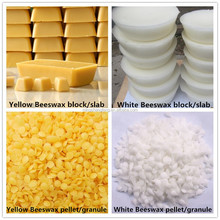 100% pure natural refined yellow food cosmetic grade A Beeswax