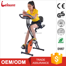 Leisure healthware exercise spin bike with back trade Zhejiang