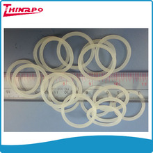 Custom made injection molding food grade transparent silicone rubber o ring