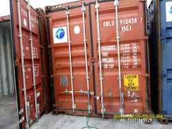 used container in cheap price