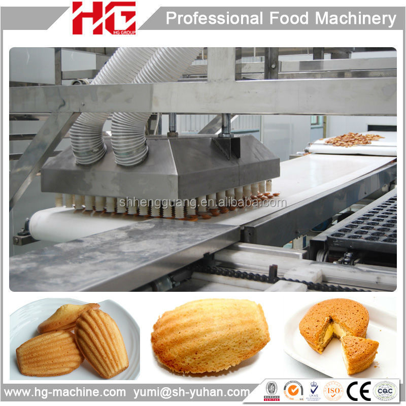 HG gas heating cake machine price of cake oven