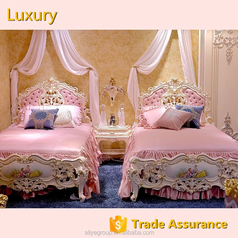AS2501-luxury gilt wood luxury bedroom set exotic princess bedroom for  girls children bedroom furniture, View gilt wood luxury bedroom set, Aliye  ...