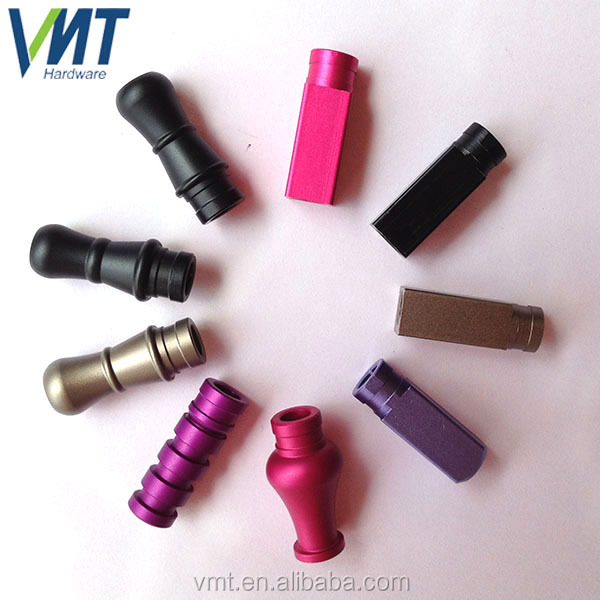 china manufacture wholesale cnc metal smoking pipes