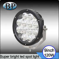 Automobile 120W 9inch Round LED Driving