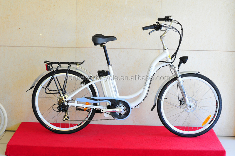2016 Cheap 26 inch Mens Step Through Electric Bicycle