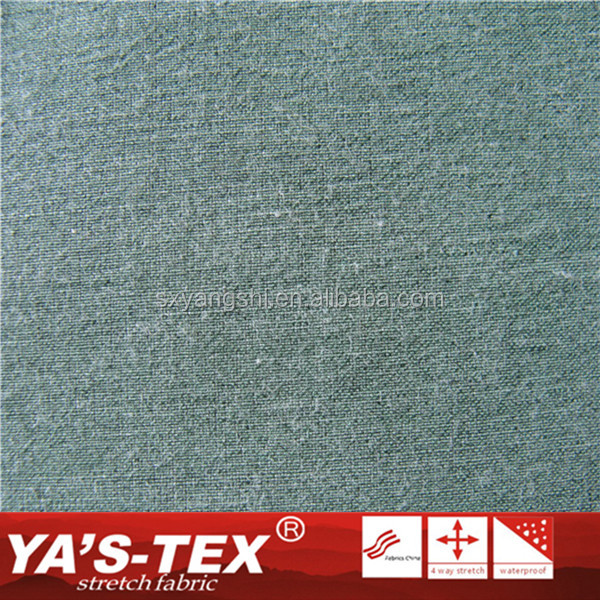 Wholesale Fabric Waterproof Woven Polyester Spandex Bamboo Fabric For Sportswear