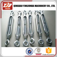 drop forged jaw and jaw turnbuckle small size turnbuckle