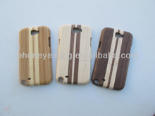 N7100 Wooden Case for Samsung Galaxy Note 2,Cherry Wood Case