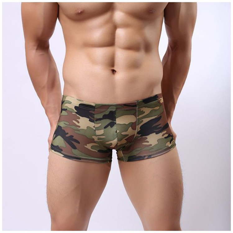 factory hot sales elastic free cotton underwear for men