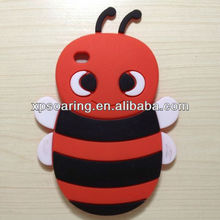 3D Bee Cute Silicone Cover Case for Apple iPod Touch 4G 4th