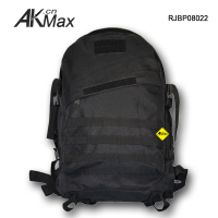 Black multifunctional military bag 3 Day tactical backpack