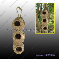 New design nest bird home hourse grass bird nest
