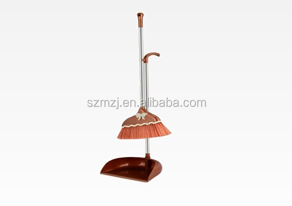 low price lobby dustpan set broom