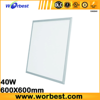 Worbest best selling products flat ceiling light fixture led 600x600mm 40W modern ceiling lights