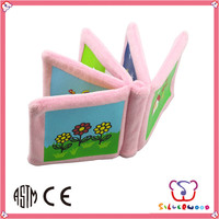 GSV certification intelligent fabric book fabric cube toys
