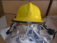 2015 new style good quality Korean half face firemen helmet,safety helmet