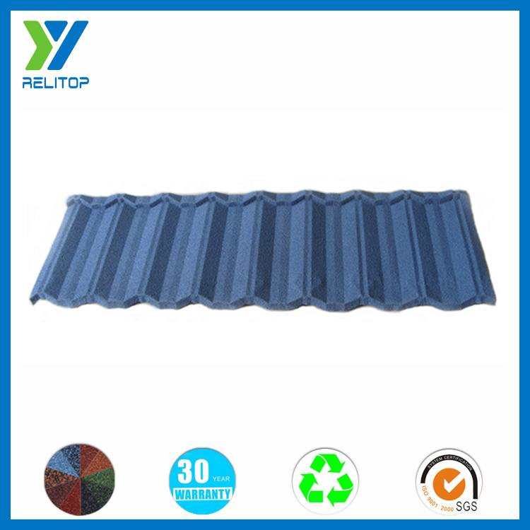 Color Stone Coated Metal Roof Tile/High Quality Stone Metal Roof