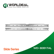 Aluminium Alloy ball bearing slide,sliding dining table extensions,Top quality drawer slide