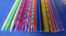 fancy knitting needles color, spirl knitting needle