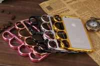 For Iphone6 ring phone shell Apple fist Knuckle Case 6 ring four new protective sleeve 4.7