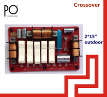 co725 po audio 2 way passive speaker crossover