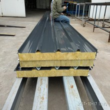 A1 GRADE fire rated rockwool roof sandwich panel with price