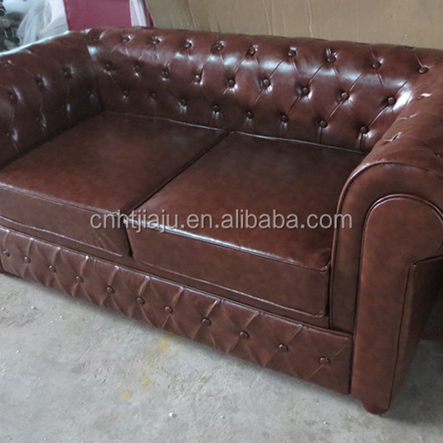 Chesterfield sofa two seats sofa