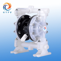 High pressure pneumatic double diaphragm water pump