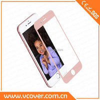 2.5D full cover 9H hardness tempered glass screen protector for apple iphone 6 plus and iphone 6s plus of shenzhen vcover