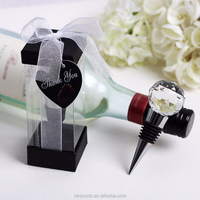Factory wholesale good quality crystal gift stopper for wedding favor