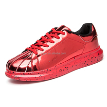 Fashion men casual slip-0n flatform boys vogue trends city shoes