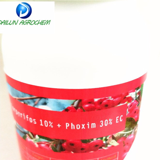 Pesticide Chlorpyrifos 10% + Phoxim 30% EC insecticide spray