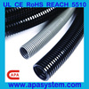 polyamide 6 plastic corrugated hose for wiring(NL206) with REACH