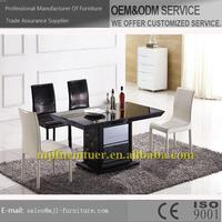 Modern hotsell acrylic dining table and chair sets