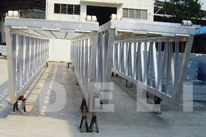 Floating pontoon prefabricated HDEPE foam mini swimming pool