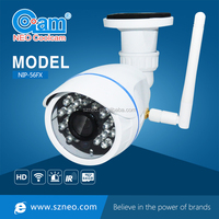 Strong rainproof p2p server wi fi wireless network 720p 1mp cctv camera security