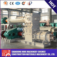 Hot selling!! VP50 German technology clay brick extruder machine, auto green vacuum extruder