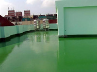 Swimming Pool Waterproof Material PU Exterior Floor Paint JD-800 Guangzhou Chemical