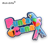 Custom cartoon 3D soft PVC fridge magnet for Punta Cana