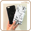 black and white genuine marble print leather phone case for Iphone 7