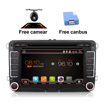 Quad Core Android Touch Screen Car Multimedia System for Skoda Yeti VW Seat GPS DVD with Radio Navi Mirror Link CANBUS