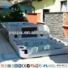 "Swim Spa with 32"" TV Outdoor spa bath whirlpool hot tub from Chinese direct manufactuer"