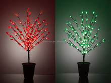 ourdoor party use led tree Lights height:90cm/48LED clear soft leaves,for garden wedding patio