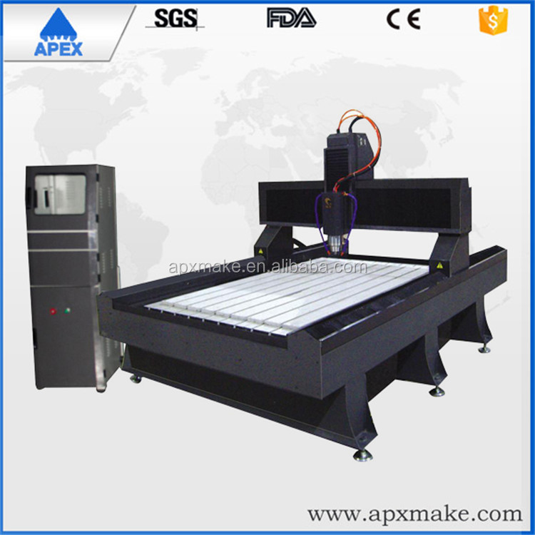 CNC Stone engraving and cutting router , CNC router for stone form Jinan
